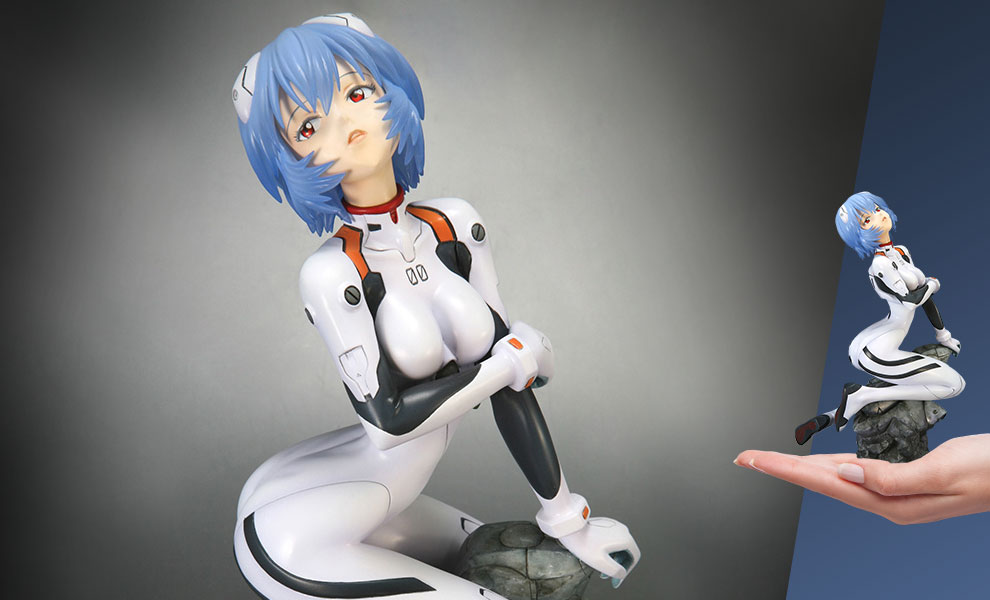 Gallery Feature Image of Rei Ayanami (Plug Suit Version) Statue - Click to open image gallery