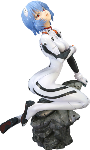 Rei Ayanami (Plug Suit Version) Statue