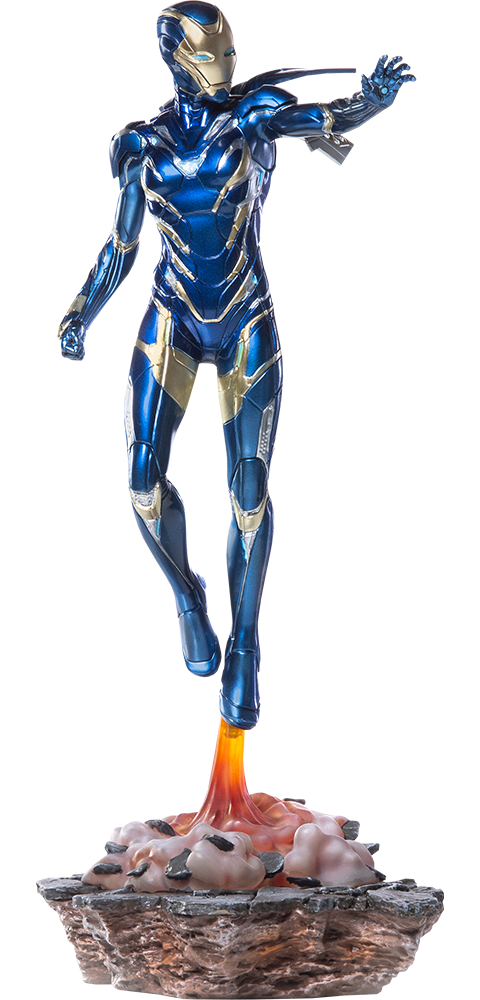 Iron Studios Pepper Potts in Rescue Suit Statue