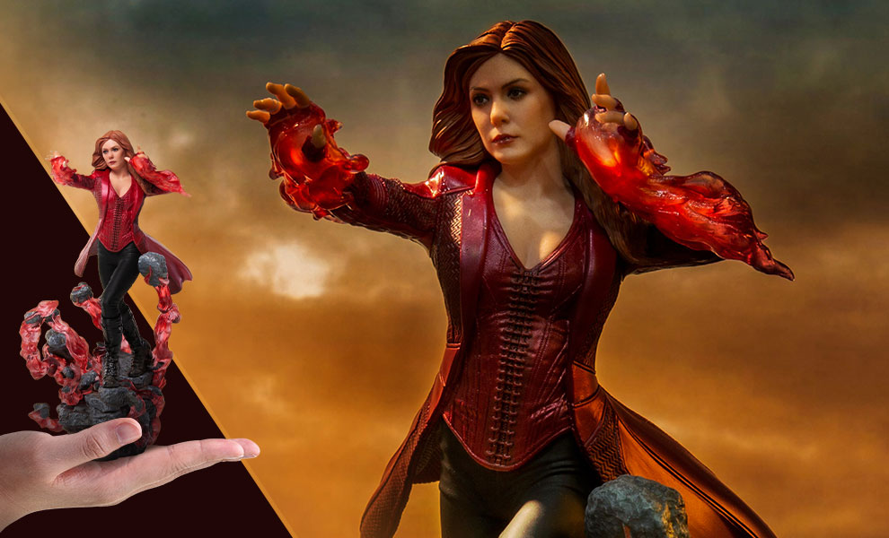 Gallery Feature Image of Scarlet Witch 1:10 Scale Statue - Click to open image gallery