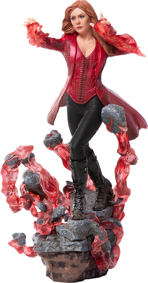 Iron Studios Scarlet Witch Statue