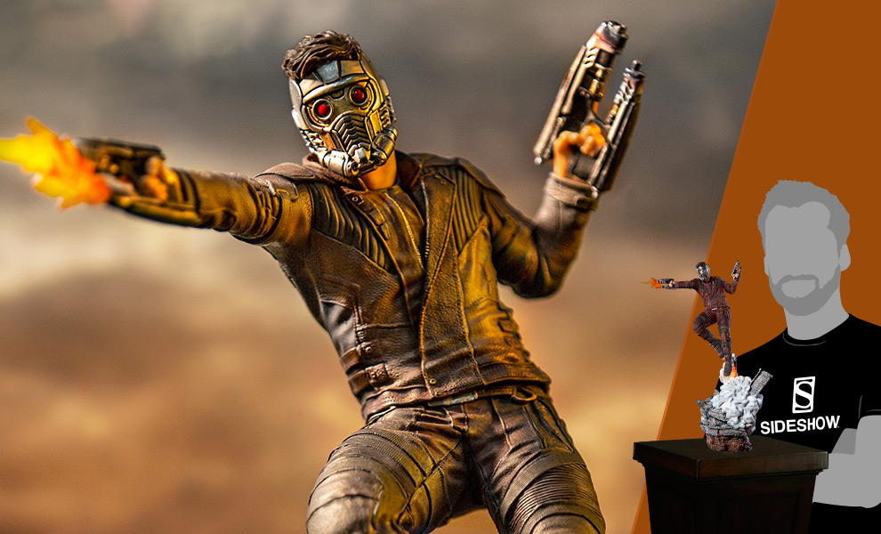 Gallery Feature Image of Star-Lord Statue - Click to open image gallery