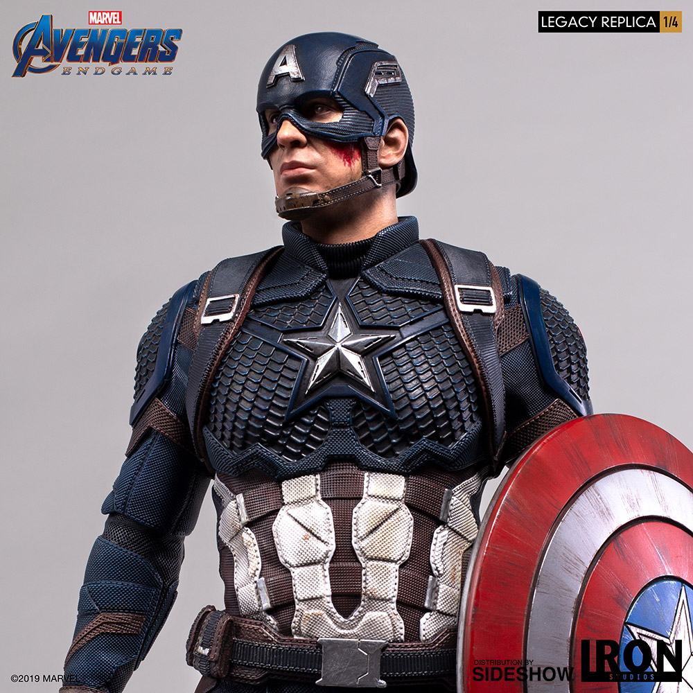 Marvel Captain America Statue by Iron Studios  Sideshow Collectibles