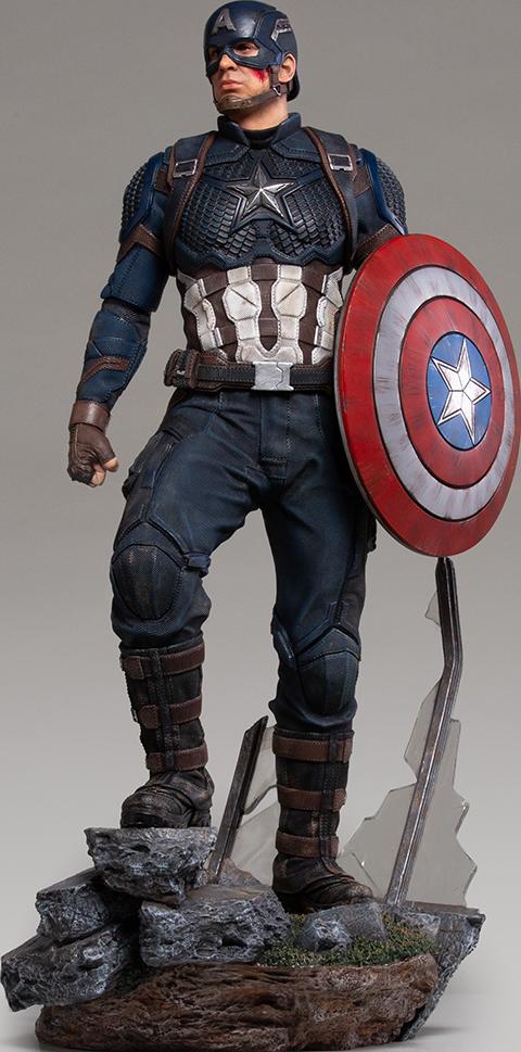 Iron Studios Captain America Statue