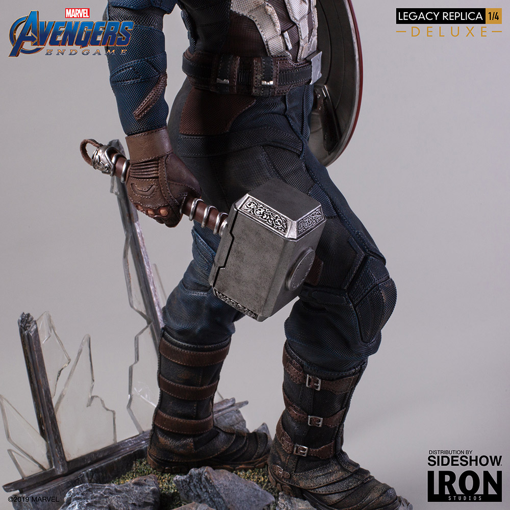 AVENGERS: ENDGAME - Iron Studios Statue Offers A Detailed ...