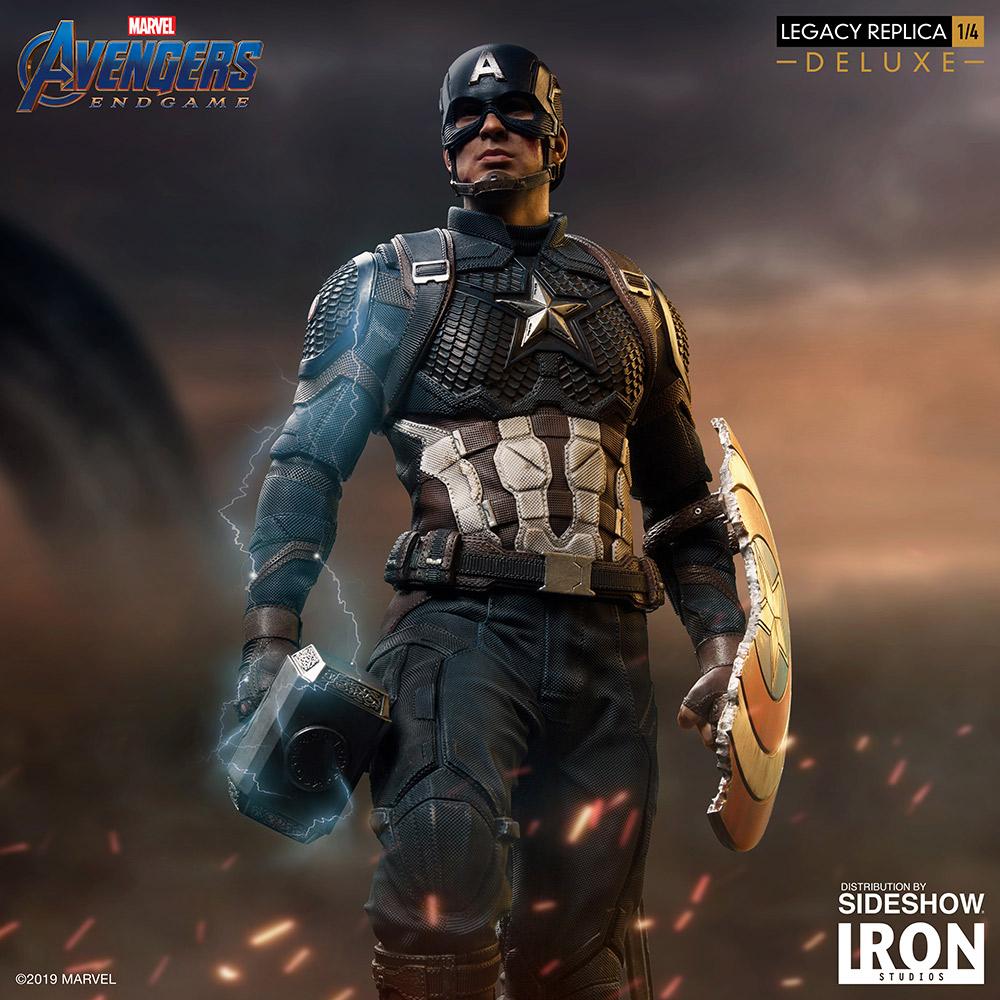 Captain America Captain Marvel Scene