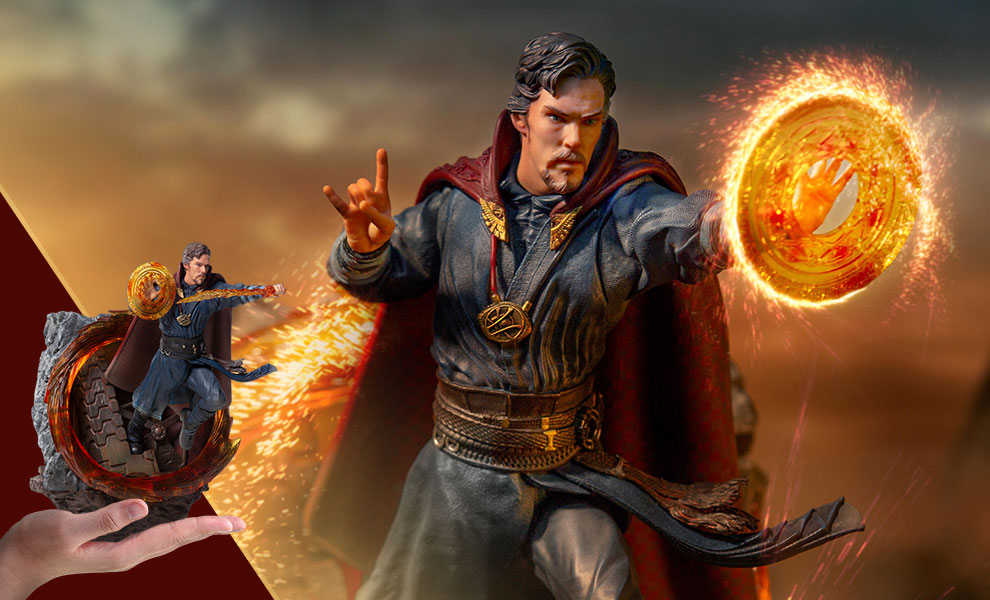 Gallery Feature Image of Doctor Strange 1:10 Scale Statue - Click to open image gallery