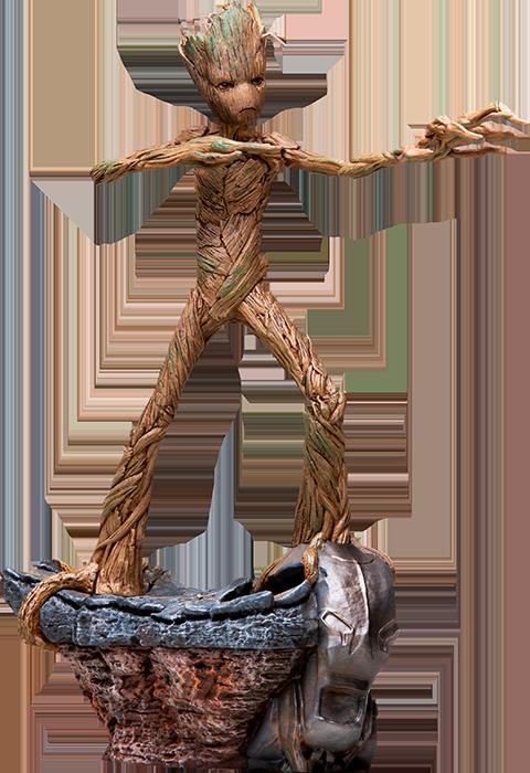 Iron Studios Groot Statue
