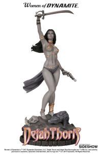 Gallery Image of Dejah Thoris Black & White Statue