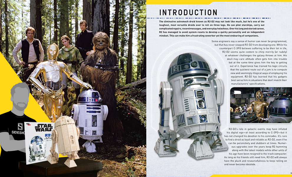 Gallery Feature Image of IncrediBuilds: R2-D2 Collector's Edition Collectible Set - Click to open image gallery