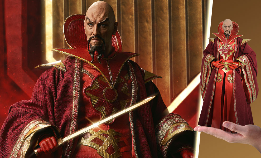 Gallery Feature Image of Ming the Merciless - Emperor of Mongo Sixth Scale Figure - Click to open image gallery