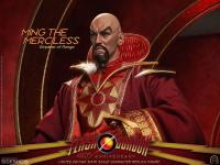 Gallery Image of Ming the Merciless - Emperor of Mongo Sixth Scale Figure