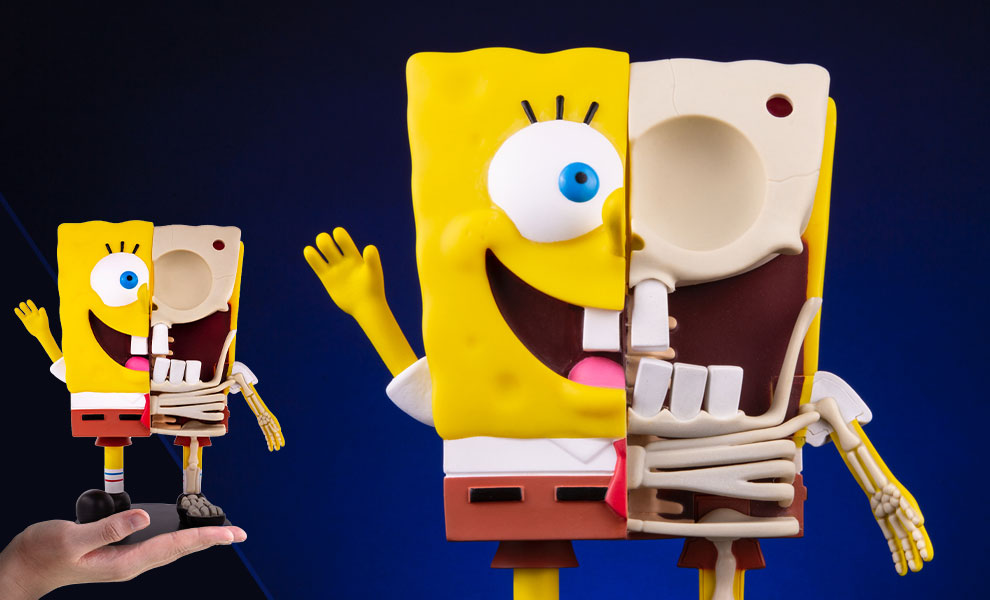 Gallery Feature Image of Spongebob Squarepants Dissected Vinyl Collectible - Click to open image gallery