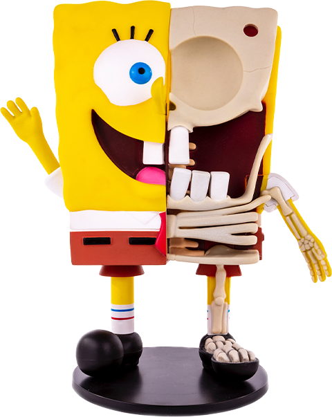 Mondo Spongebob Squarepants Dissected Vinyl Collectible