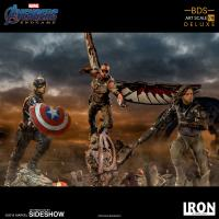 Gallery Image of Captain America (Deluxe) Statue