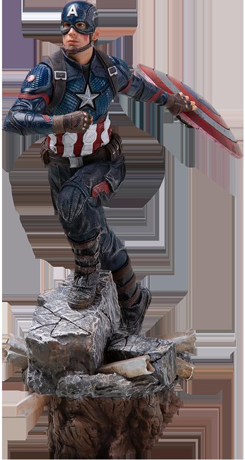 Iron Studios Captain America (Deluxe) Statue