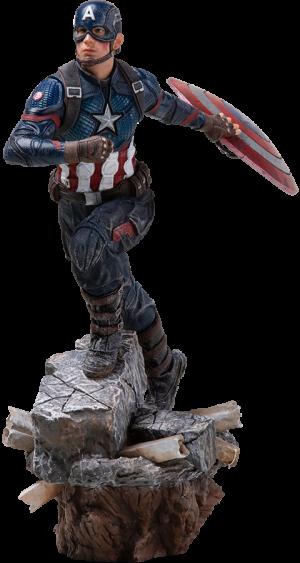 Captain America (Deluxe) Statue