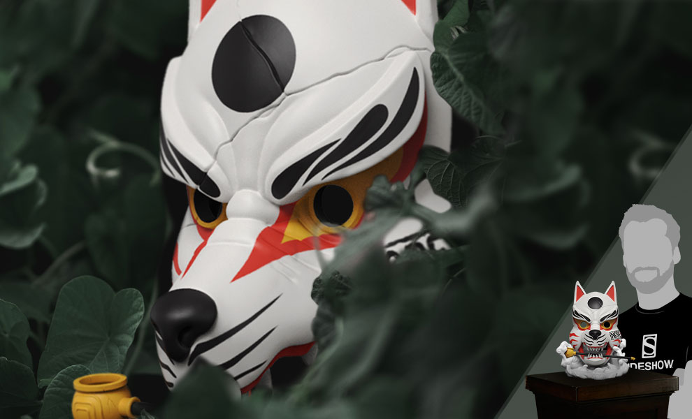 Gallery Feature Image of Kitsune Mask Vinyl Collectible - Click to open image gallery
