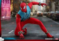 Gallery Image of Spider-Man (Scarlet Spider Suit) Sixth Scale Figure