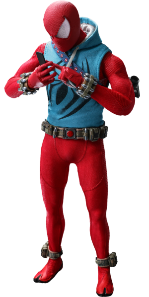 Spider-Man (Scarlet Spider Suit) Sixth Scale Figure