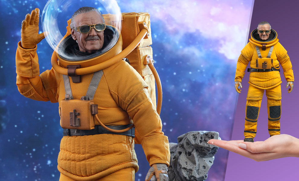 Gallery Feature Image of Stan Lee® Sixth Scale Figure - Click to open image gallery