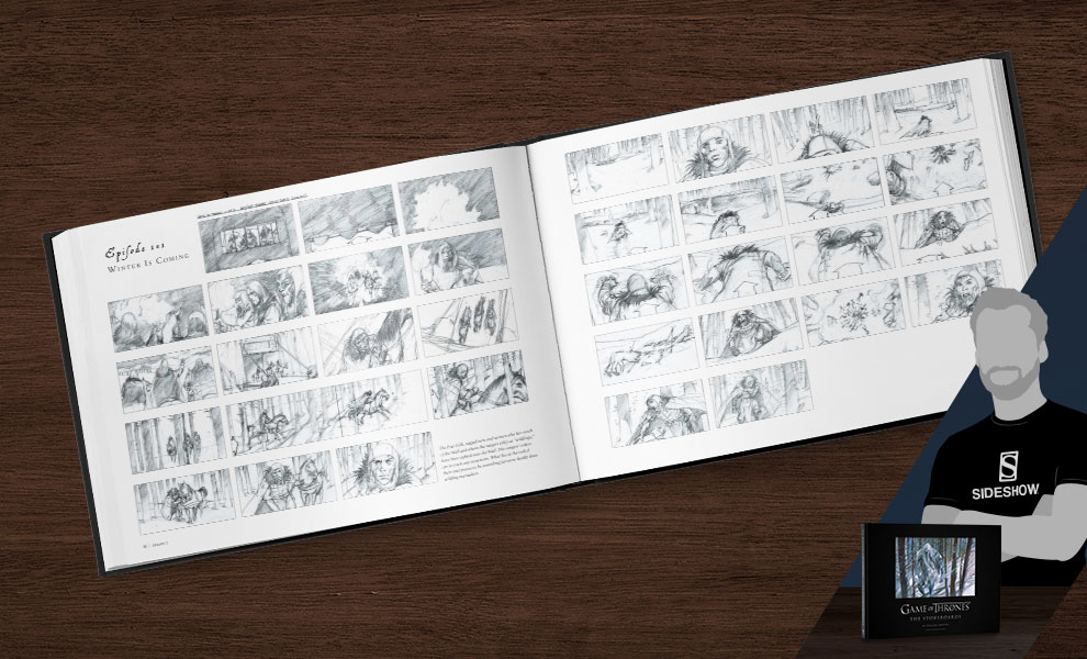 Gallery Feature Image of Game of Thrones: The Storyboards Book - Click to open image gallery