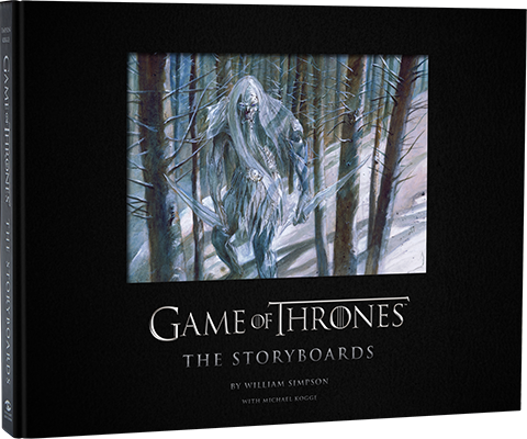 Insight Editions Game of Thrones: The Storyboards Book