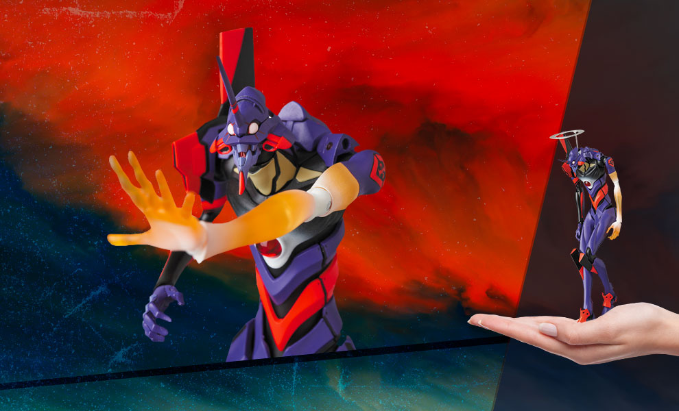 Gallery Feature Image of Evangelion-01 (Awakening Version) Action Figure - Click to open image gallery