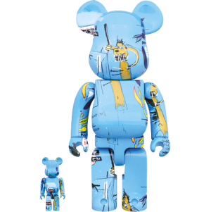 Be@rbrick Jean-Michel Basquiat #4 100% and 400% Collectible Set