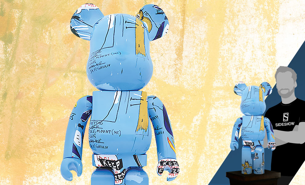 Gallery Feature Image of Be@rbrick Jean-Michel Basquiat #4 1000% Figure - Click to open image gallery