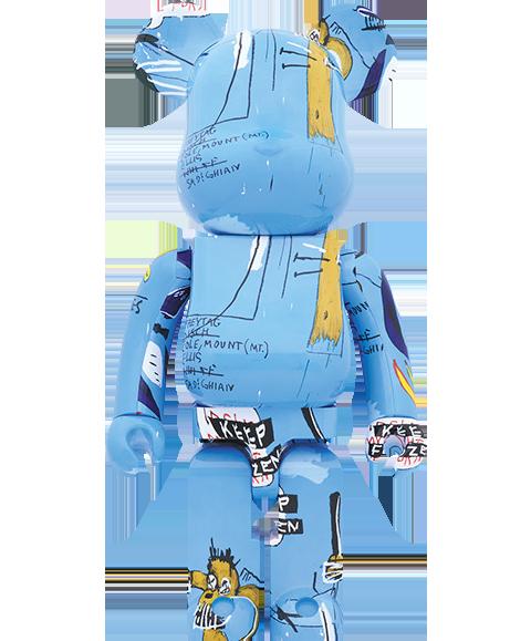 Medicom Toy Be@rbrick Jean-Michel Basquiat #4 1000% Figure