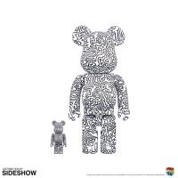 Gallery Image of Be@rbrick Keith Haring #4 100% and 400% Collectible Set
