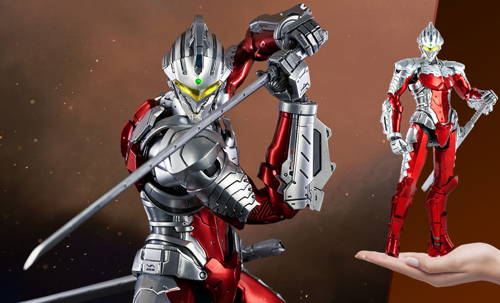 Gallery Feature Image of Ultraman Suit Ver7 (Anime Version) Sixth Scale Figure - Click to open image gallery