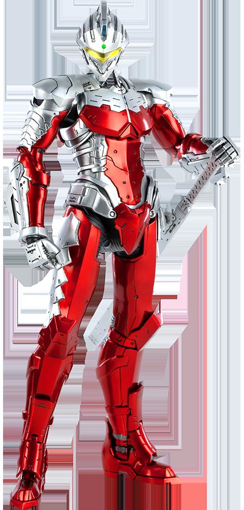 Threezero Ultraman Suit Ver7 (Anime Version) Sixth Scale Figure