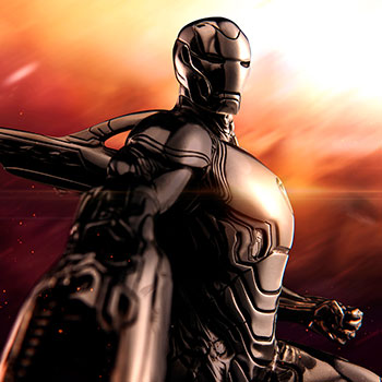 Iron Man Infinity War Figurine Pewter Collectible