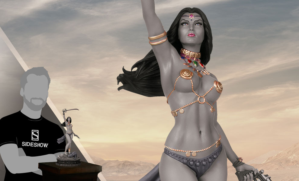 Gallery Feature Image of Dejah Thoris Black & White (Artist Proof) Statue - Click to open image gallery