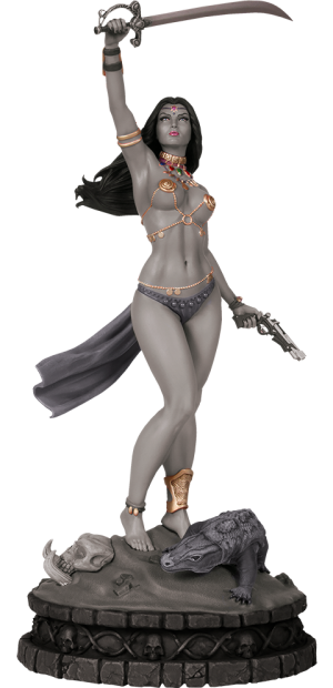 Dejah Thoris Black & White (Artist Proof) Statue