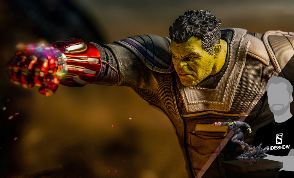 Gallery Feature Image of Hulk (Deluxe) 1:10 Scale Statue - Click to open image gallery