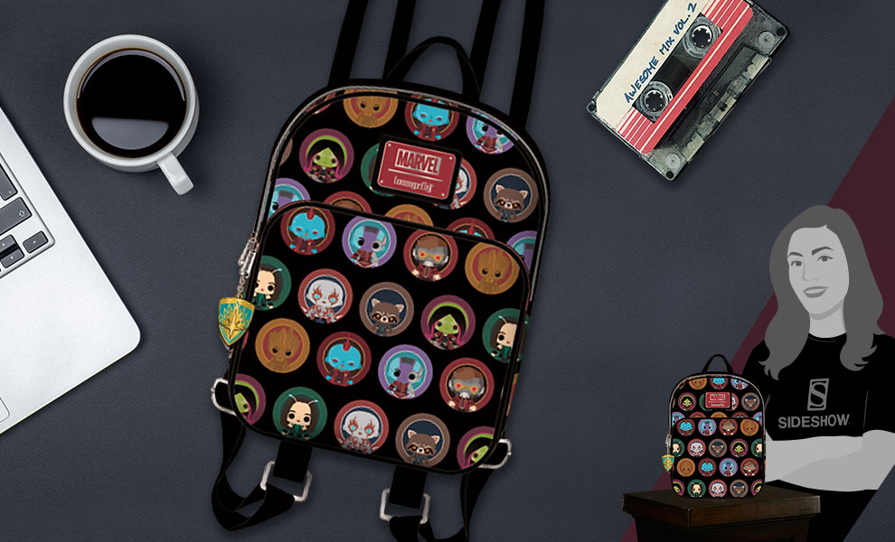 Gallery Feature Image of Guardians of the Galaxy 2 Chibi Mini Backpack Apparel - Click to open image gallery