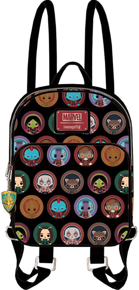 Loungefly Guardians of the Galaxy 2 Chibi Mini Backpack Apparel