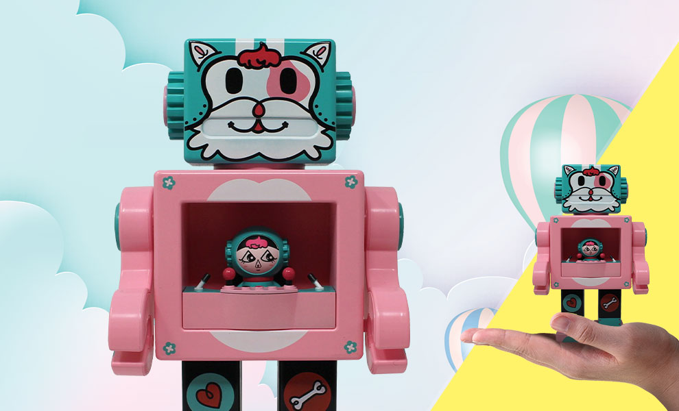 Gallery Feature Image of Petslala Pink OBOT Collectible Figure - Click to open image gallery