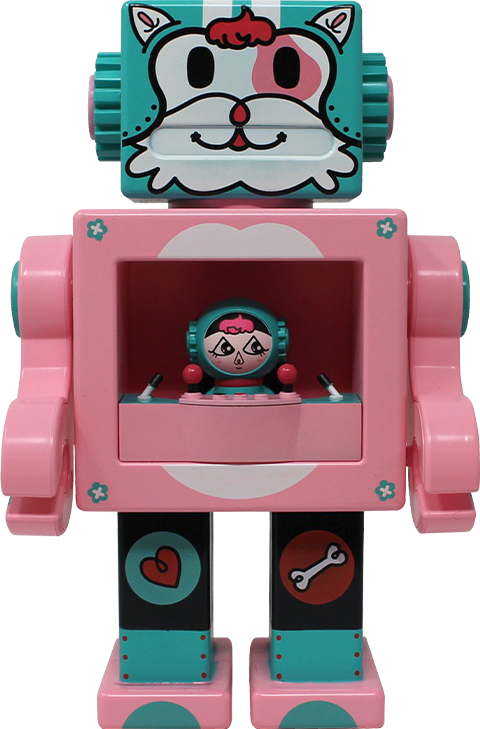 Gagatree Petslala Pink OBOT Collectible Figure