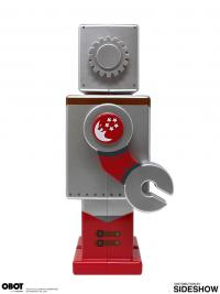 Gallery Image of Space Girl Silver OBOT Collectible Figure