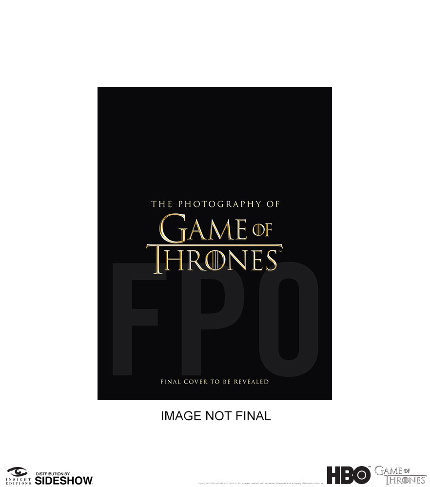 The Photography of Game of Thrones Hardcover Book