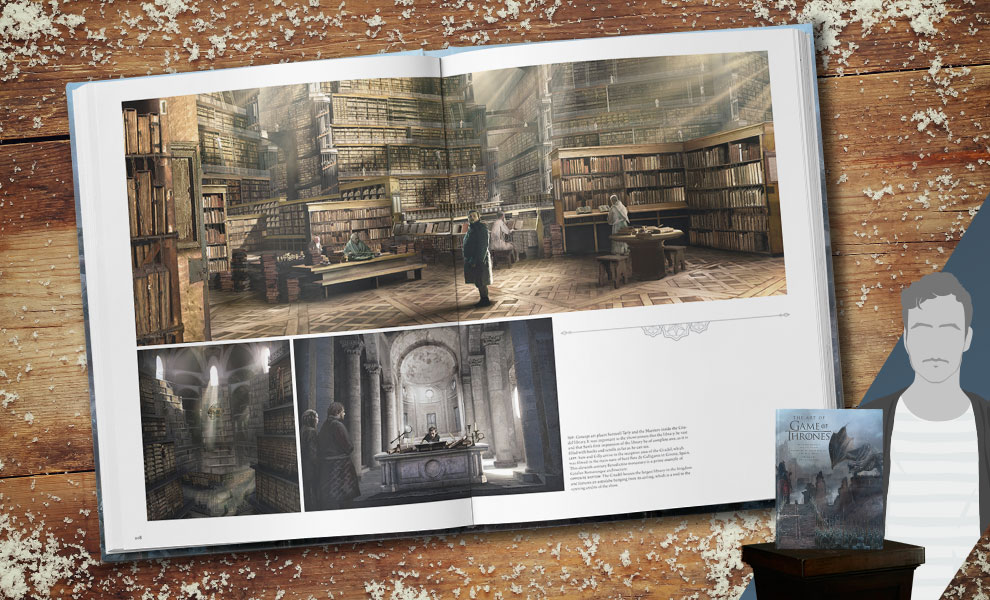 Gallery Feature Image of The Art of Game of Thrones Book - Click to open image gallery