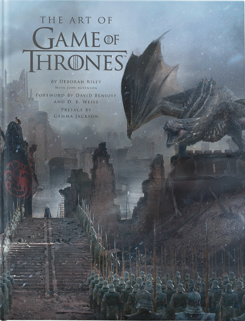 Insight Editions The Art of Game of Thrones Book
