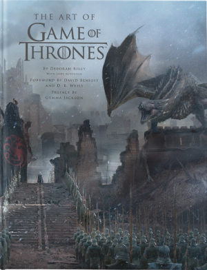 The Art of Game of Thrones Book
