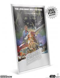 Gallery Image of Star Wars: The Empire Strikes Back Silver Foil Silver Collectible