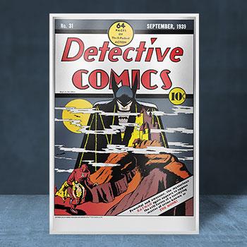Detective Comics #31 Silver Foil Silver Collectible