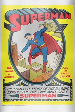 Superman #1 Silver Foil Silver Collectible